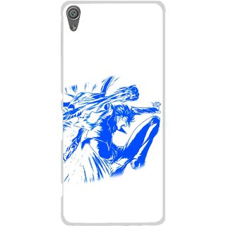 Snooky Printed Horse Boy Mobile Back Cover For Sony Xperia XA1 - Multi