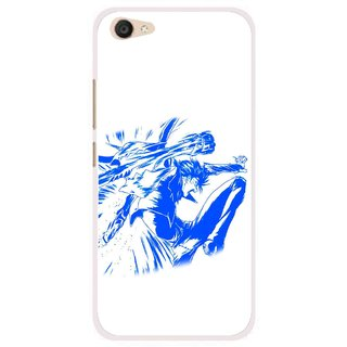 Snooky Printed Horse Boy Mobile Back Cover For Vivo V5 Plus - Multi