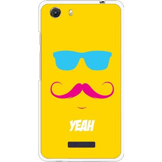 Snooky Printed Yeah Mobile Back Cover For Micromax Canvas Unite 3 - Multi