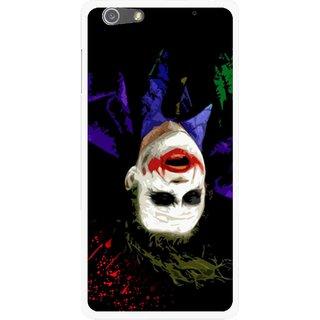Snooky Printed Hanging Joker Mobile Back Cover For Oppo R1 - Multi
