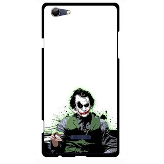 Snooky Printed Joker Mobile Back Cover For Micromax Canvas Selfie 3 Q348 - Multi