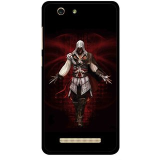 Snooky Printed thor Mobile Back Cover For Gionee F103 pro - Multi