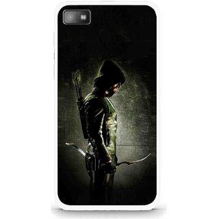 Snooky Printed Hunting Man Mobile Back Cover For Blackberry Z10 - Multi