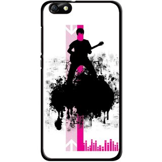Snooky Printed Music In Air Mobile Back Cover For Huawei Honor 4X - Multi