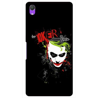 Snooky Printed The Joker Mobile Back Cover For Sony Xperia Z2 - Multi