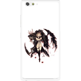 Snooky Printed Kungfu Girl Mobile Back Cover For Gionee Elife S6 - Multi