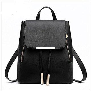 face540a428 Aeoss Women Girl School bags Backpack Fashion Shoulder Bag Rucksack Leather  Travel Bag (A296blk)