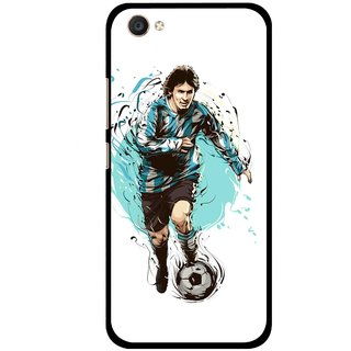 Snooky Printed Have To Win Mobile Back Cover For Vivo V5 - Multi