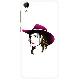 Snooky Printed Tom Boy Mobile Back Cover For HTC Desire 728 - Multi
