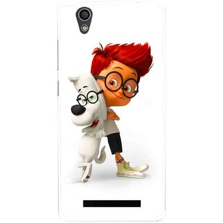 Snooky Printed My Friend Mobile Back Cover For Gionee F103 - Multi