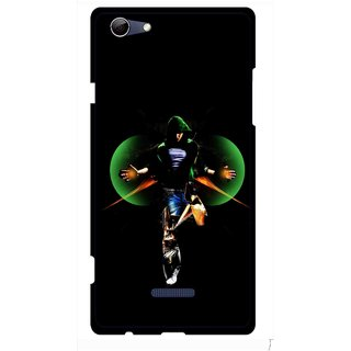 Snooky Printed Hero Mobile Back Cover For Micromax Canvas Selfie 3 Q348 - Multi