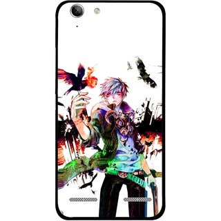 Snooky Printed Angry Man Mobile Back Cover For Lenovo Vibe K5 Plus - Multi