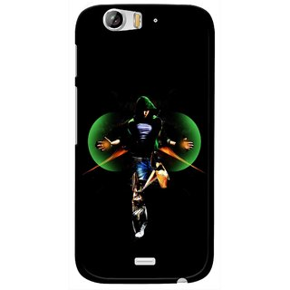 Snooky Printed Hero Mobile Back Cover For Micromax Canvas Turbo A250 - Multi