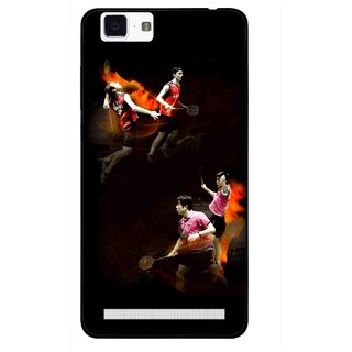 Snooky Printed Sports Player Mobile Back Cover For Vivo X5 Max - Multi