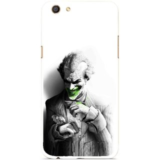 Snooky Printed Wilian Mobile Back Cover For Oppo F3 - Multi