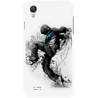 Snooky Printed Enjoying Life Mobile Back Cover For Vivo Y11 - Multi