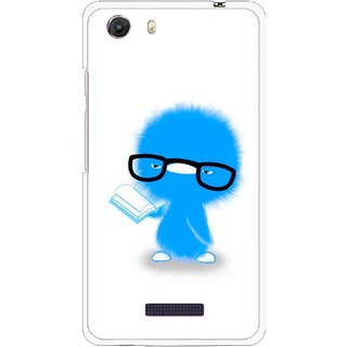 Snooky Printed My Teacher Mobile Back Cover For Micromax Canvas Unite 3 - Multi