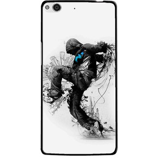 Snooky Printed Enjoying Life Mobile Back Cover For Gionee Elife E6 - Multi