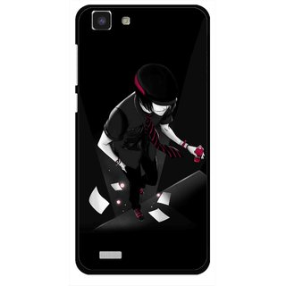 Snooky Printed Hep Boy Mobile Back Cover For Vivo Y27L - Multi
