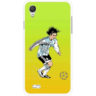 Snooky Printed Focus Ball Mobile Back Cover For Vivo Y11 - Multi