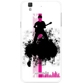 Snooky Printed Music In Air Mobile Back Cover For Micromax YU YUREKA - Multi