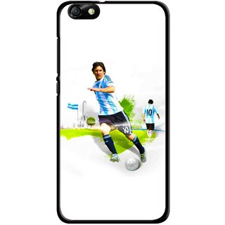 Snooky Printed Football Mania Mobile Back Cover For Huawei Honor 4X - Multi