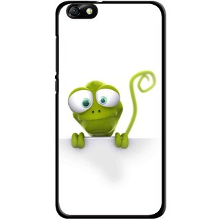 Snooky Printed Seeking Alien Mobile Back Cover For Huawei Honor 4X - Multi