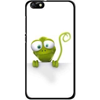 Snooky Printed Seeking Alien Mobile Back Cover For Huawei Honor 4X - Multi