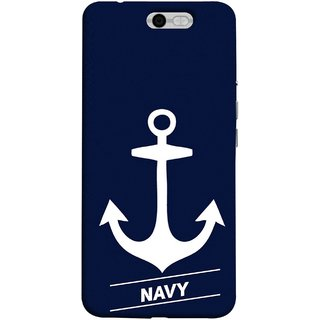 FUSON Designer Back Case Cover For InFocus M812 (Sea Ocean Nevy Soldiers Fighter Plains Ultrasonic )