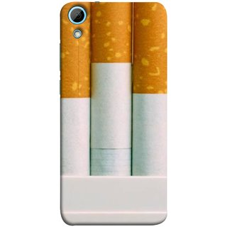 FUSON Designer Back Case Cover For HTC Desire 820 :: HTC Desire 820 Dual Sim ::  HTC Desire 820S Dual Sim :: HTC Desire 820Q Dual Sim ::  HTC Desire 820G+ Dual Sim (Pack Of Cigarettes With Cigarettes Sticking Out )