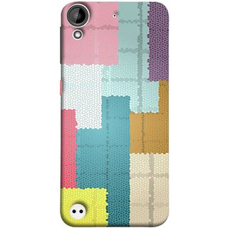 FUSON Designer Back Case Cover For HTC Desire 530 (Ceramic Tiles Hall Bathroom Home Decor Pattern)