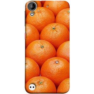 FUSON Designer Back Case Cover For HTC Desire 530 (Countryside Scent Of Orange Blossoms Citrun )
