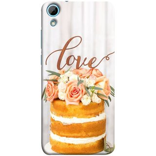 FUSON Designer Back Case Cover For HTC Desire 820 :: HTC Desire 820 Dual Sim ::  HTC Desire 820S Dual Sim :: HTC Desire 820Q Dual Sim ::  HTC Desire 820G+ Dual Sim (Comes True Love You Forever Valentine Couples Lovers)
