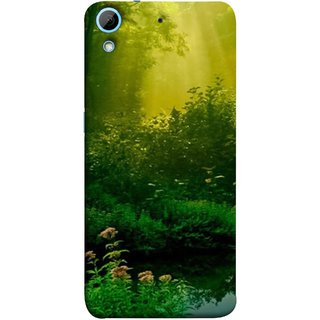 FUSON Designer Back Case Cover For HTC Desire 728 Dual Sim :: HTC Desire 728G Dual Sim (Tropical And Subtropical Coniferous Forests Wallpaper)