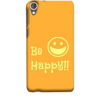 FUSON Designer Back Case Cover For HTC Desire 825 (Big Smile Best Wallpapers Inspiration Quote)