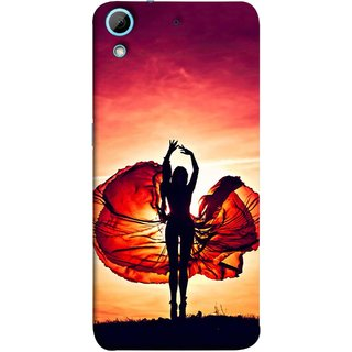 FUSON Designer Back Case Cover For HTC Desire 626G :: HTC Desire 626 Dual SIM :: HTC Desire 626S :: HTC Desire 626 USA :: HTC Desire 626G+ :: HTC Desire 626G Plus (Beautiful Female Dancer Silhouette In The Sun )