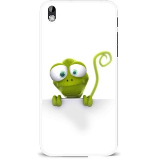 Snooky Printed Seeking Alien Mobile Back Cover For HTC Desire 816 - Multi