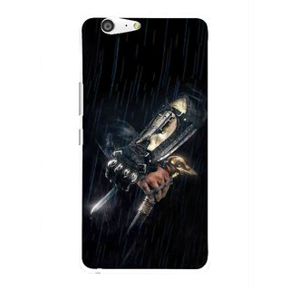 Snooky Printed The Thor Mobile Back Cover For Gionee Marathon M5 - Multi