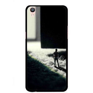 Snooky Printed God Door Mobile Back Cover For Oppo F1 Plus - Multi