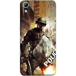 FUSON Designer Back Case Cover For HTC Desire 728 Dual Sim :: HTC Desire 728G Dual Sim (Photograph Movie Scene Anti Terror Sqad Attacks )