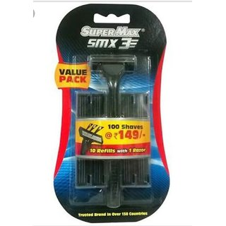 Supermax SMX3 Disposable Razor