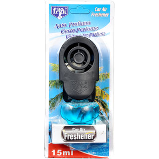 Car Liquid Perfume Plug-in Air 15ml- Blue