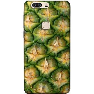 FUSON Designer Back Case Cover For Huawei Honor V8 (Pineapple Skin Interesting Textured Art Design )