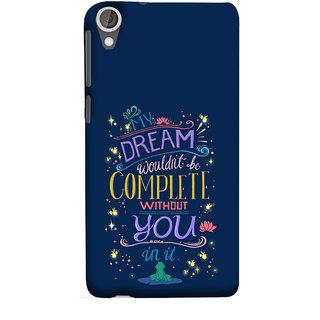 FUSON Designer Back Case Cover For HTC Desire 825 (Couple Marriage Engegement Lovers Family Love Kisses)