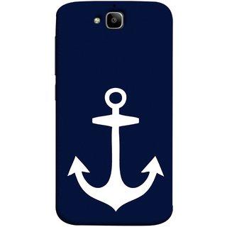 FUSON Designer Back Case Cover For Huawei Honor Holly 2 Plus :: Huawei Honor 2 Plus (Sea Ocean Nevy Soldiers Fighter Plains Ultrasonic )