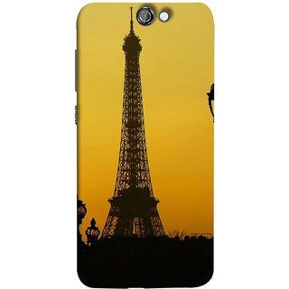 FUSON Designer Back Case Cover For HTC One A9 (Bridge Eiffel Tower France Paris Ornate Lamp)