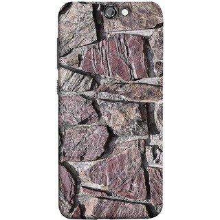 FUSON Designer Back Case Cover For HTC One A9 (Sandstone Bricks Of Irregular Shapes Slotting Together )