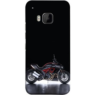 FUSON Designer Back Case Cover For HTC One M9 :: HTC One M9S :: HTC M9 (Tour Bike Gear Patrol Yamaha Motorbikes And Super Bikes)