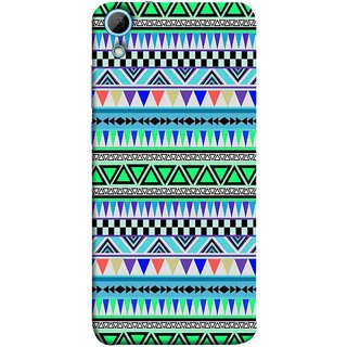 FUSON Designer Back Case Cover For HTC Desire 828 Dual Sim (Tribal Patterns Colourful Eye Catching Verity Different )