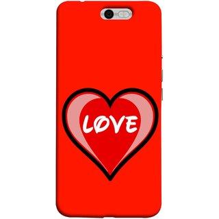 FUSON Designer Back Case Cover For InFocus M812 (Pink Red Wallpapers Flowers Lovers Boyfriends )